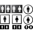 Human signs vector image