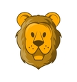Head of lion icon cartoon style vector image