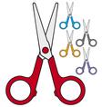 children scissors vector image