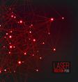 Laser Background vector image
