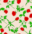 roses wallpaper pattern vector image vector image