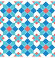 Mosaic background seamless pattern vector image