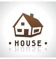 House logo template Real estate design concept vector image vector image