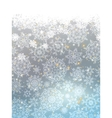 Blue abstract winter card EPS 8 vector image vector image