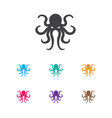 of animal symbol on octopus vector image