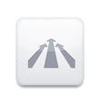 white arrow icon Eps10 Easy to edit vector image
