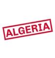 Algeria rubber stamp vector image