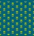 rustic style holland tulip repeatable motif simple vector image vector image