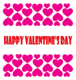 Card Valentines Day vector image
