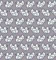 seamless pattern chicken vector image