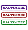baltimore watermark stamp vector image