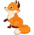 little fox vector image
