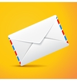 mail envelope isolated vector image