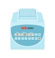 lab equipment shaker vector image