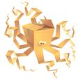 Boxtopus vector image