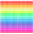 seamless rainbow stripes textured pattern vector image