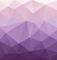 purple gradient abstract polygon triangular vector image