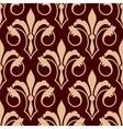 Medieval floral seamless pattern of fleur-de-lis vector image