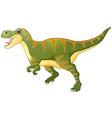 Cartoon dinosaur tyrannosaurus vector image