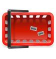 Shopping Basket vector image vector image