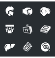 Set of Boxing vector image