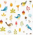 Llittle forest pattern vector image