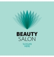 abstract logo for beauty vector image vector image