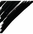 Corner Brush Strokes Background vector image