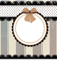 Vintage background antique vector image