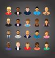 people profiles vector image vector image