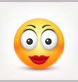 smileysmiling angrysadhappy female emoticon vector image