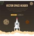 Flat concept for web development vector image