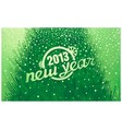New Year holiday inscription in retro style vector image vector image