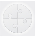 puzzle 03 vector image vector image