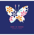 abstract colorful stars butterfly vector image