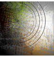 Abstract grunge backdrop vector image
