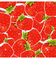 Labels Strawberry vector image vector image