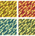 Set of Colorful Geometric Seamless textures raster vector image