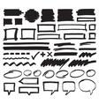 Marker Design Elements vector image