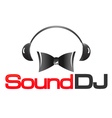 Sound DJ vector image