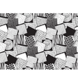 Seamless pattern with hand drawn blocks vector image