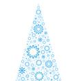 Unusual Christmas Tree vector image vector image