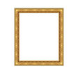 Picture ornate frame isolated on white background vector image vector image