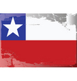 chile national flag vector image