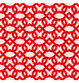 Abstract repeatable pattern background of red vector image