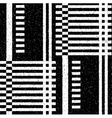 Black geometric pattern in a fine speckled vector image