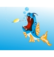 Fish sails for spoon bait vector image