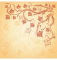 Background with maple autumn leaves vector image