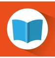 book icon Education concept Flat vector image