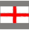 English St George Flag vector image